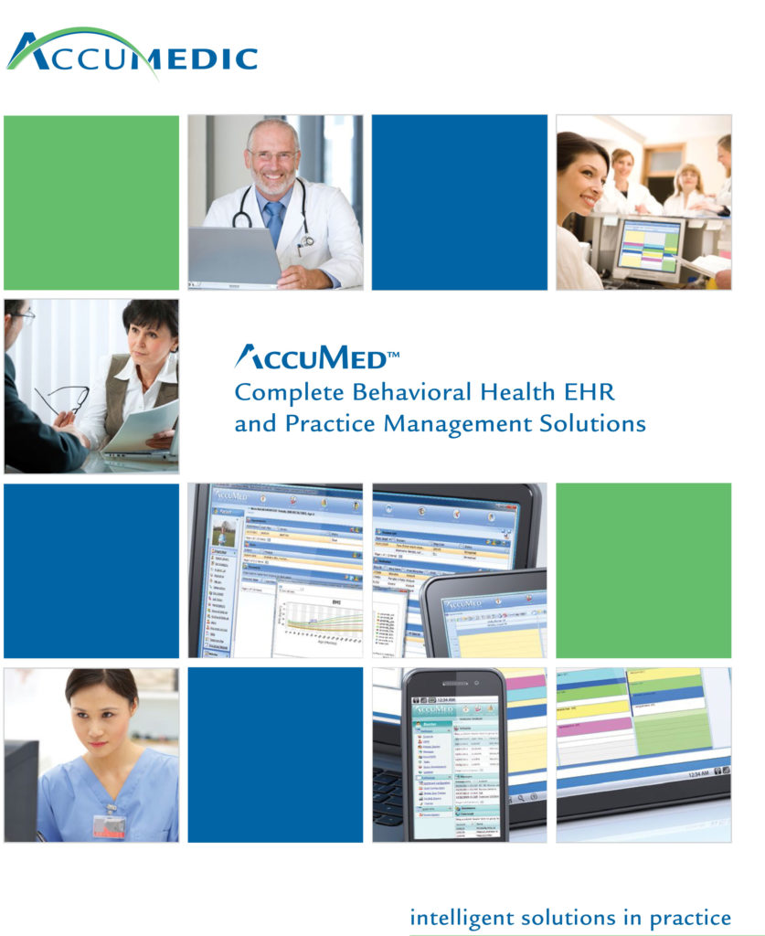 Complete Behavioral Health EHR and Practice Management Solution Brochure